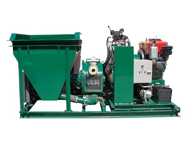 What are the main advantages of different types of grouting pumps?