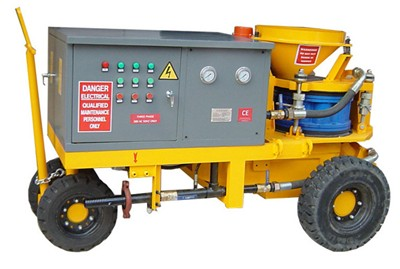 China concrete shotcrete machine manufacturers