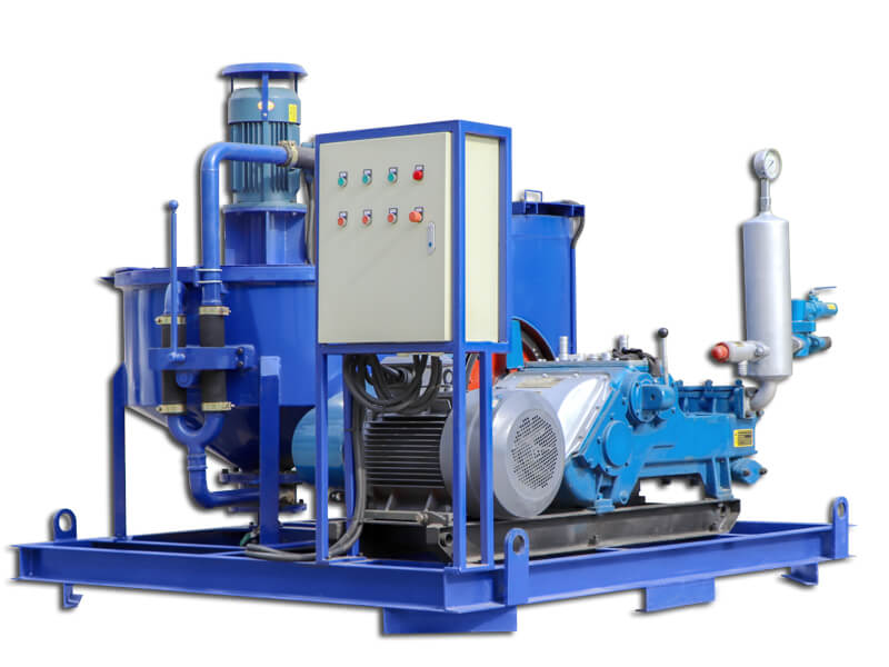 WGP400/700/320/100TPI-E Grouting injection plant for tunneling